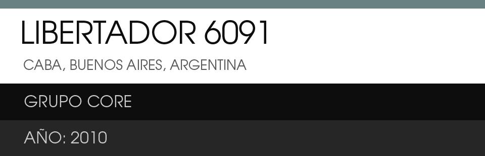 LIBERTADOR 6091
